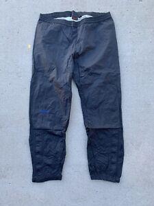 Marmot PreCip Full Zip Windbreaker Pants Black Men's Sz. Small Nylon Jogger Ski