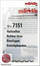 Märklin 7151 H0 Scale 1:87 Rubbers Locomotive Set 10x Tires Bandages 5,8mm
