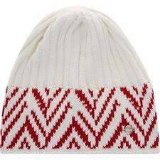 EISBAR Women's 'Cosmo' Ski Winter Merino Wool Hat White / Red - One Size