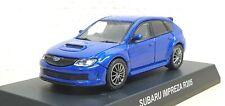 1/64 Kyosho 2010 SUBARU WRX STI R205 BLUE diecast car model