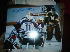 Ken Linseman 8x10 Autographed Photo Boston Bruins Edmonton Oilers The Rat #6