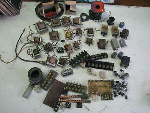Vintage Ham/Radio, Electronics, Transformers, electrical Parts, 14.5 pounds L13