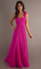 Long Bridesmaid Dress - PINK - All Sizes
