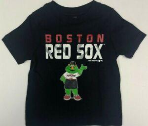 Boston Red Sox Wally the Mascot Toddler Boy's T-Shirt CHOOSE SIZE