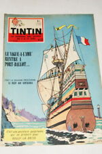 TINTIN JOURNAL N°27-1959  EDITION BELGE COUVERTURE MITTEI BD