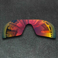 Red Replacement Lenses For-Oakley Oil Rig Sunglasses Frame Polarized