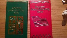 One Green & One Red Elongated Penny Book With 2 FREE Pressed Pennies!