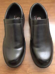 Skechers for Work Mens Slip On Size 10 Black