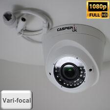 1080P Full HD IP Dome Camera IR CCTV Security VariFocal CAM 2.8mm-12mm Lens UK