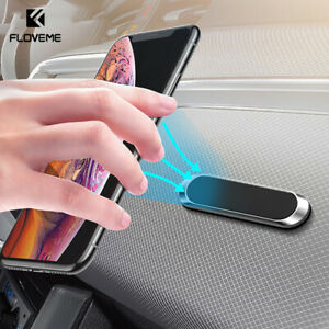 Mini Strip Shape Magnetic Car Phone Holder Mount For iPhone 11Pro Xs Max Samsung