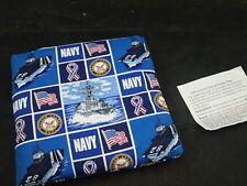 Microwave Potato Baker Bag/Hot Pad Baked US Navy Military Print