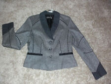 Viscose V-Neckline Dry-clean Only Coats & Jackets for Women