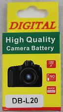 Nouveau Batterie de Rechange Dk101-3 pour Db-l20 3,7v 1000 Mah - Sanyo-Camcorder