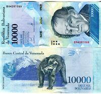 Venezuela  /  Venezuela 10000  BolivaresBanknote 2017 kassenfrisch UNC.