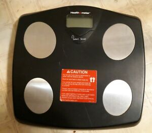 HEALTH O METER WEIGHT & BODY FAT MONITORING DIGITAL SCALE WORKS GREAT TESTED