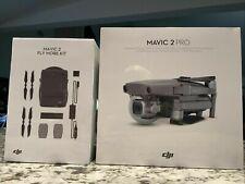 DJI Mavic 2 PRO Drone Quadcopter,Fly More Kit Combo Bundle