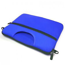 Blue Windows & Android Tablet w/ Front Pocket Handle Briefcase School Messenger