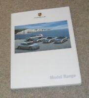 Porsche Range Brochure 2009 - 911 997 GT2 GT3 Turbo Cayman Boxster Cayenne