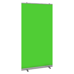 Green Screen Chroma Key Roller Banner Pop/Roll/Pull up Video Gaming Back Drop