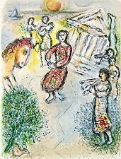 Preparation for Candidate's Feast The Odyessy 1989 Limited Edition Marc Chagall