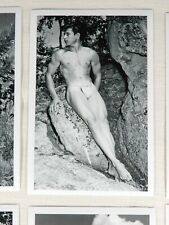 Western Photography Guild, Male Nude Set, Various Posing Strap Era Models #7