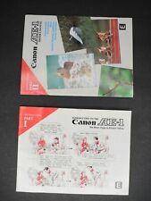 Canon Ae-1 Part I & Ii Camera Instruction Manual
