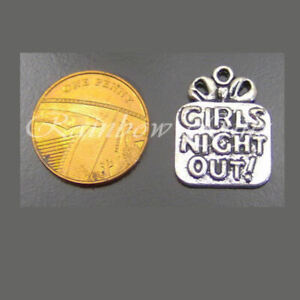 GIRLS NIGHT OUT CHARMS HEN PARTY WEDDING FAVOURS KEEPSAKES
