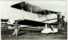 REAL PHOTO VICKERS ''VILDEBEEST'' BIPLANE AIRCRAFT