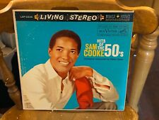 Sam Cooke Hits Of the 50's LP RCA Victor STEREO VG+