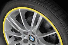 Rimskins YELLOW 4 Pack wheel rim protectors Rim skins