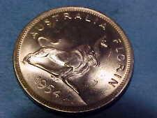 1954 Australia 2-Shilling ~Gem Uncirculated Silver ~Rare Gem  ☆☆Make An Offer☆☆