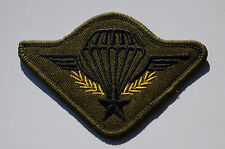 French - Standard Parachute Jump Wings - Sew On Patch -  No482