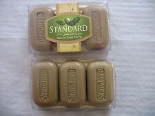 3 Stück. Seifen je 90 g. natürliche Olivenöl- Seife/ Amberduft Höchstqualität.