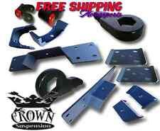 Crown Suspension 99-07 Silverado 3/5 Lowering Drop Kit Key Shackle Flip Kit 4wd