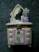 """New ListingPrecious Moments 331074 """"Hinged Covered Box 1997"""