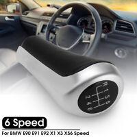 Car 6 Speed Genuine Gear Stick Shift Knob Lever For BMW E90 E91 E92 X1 X3 X5 -
