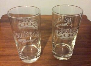 2 - Jim Beam Racing - Indianapolis 500 Commemorative 12oz Glasses / May. 30. 04