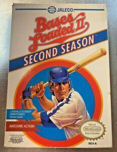 Bases Loaded II 2: Second Season (Nintendo Entertainment System NES, 1990)