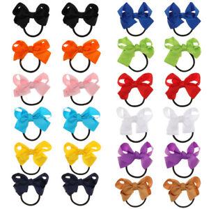 Color Ribbon School Supplies Bow Hair Ropes Hair Accessories Hair Scrunchies