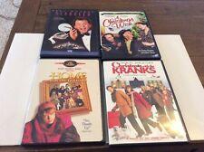 CHRISTMAS DVD LOT CHRISTMAS WISH HOME FOR HOLIDAYS CHRISTMAS WITH KRANK SCROOGED