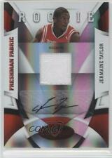 2009-10 Certified Mirror Red /100 Jermaine Taylor #198 Rookie Auto