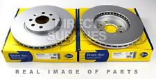 2 X FRONT AXLE BRAKE DISCS FOR OPEL ASTRA H (A04) (L08) 1.6 COMLINE ADC1131V