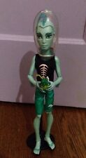 Monster High Dolls - Skull Shores Gil Webber Boy Doll Lagoona Boyfriend w/ Stand