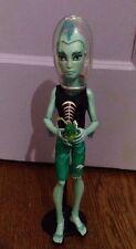 Monster High Dolls - Skull Shores Gil Webber Boy Doll Lagoona Boyfriend w/ Stand