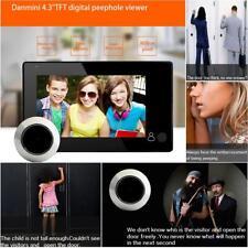 "Digitaler Türspion mit extra großem 4,3"" Display Türkamera Neuheit Überwachung"