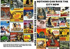 """Nothing Can Save The City Now"" Dvd-R Sci-Fi Movie Trailers Godzilla Rodan Varan"