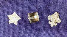 Bonjoc Swarovski Crystal Ball Marker Hat Clip Lot - Star•Crystal•Fleur-de-Lis