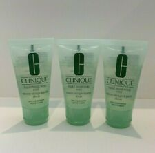 LOT OF 3 x CLINIQUE LIQUID FACIAL SOAP MILD DRY/COMBINATION SKIN 30ML/EACH
