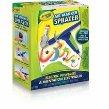 Crayola Air Marker Sprayer Electric Powered Airbrush Kit. Brand New.