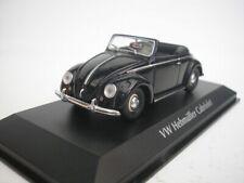 VW Volkswagen Hebmüller Cabriolet 1950 Negro 1/43 maxichamps 940052130 Nuevo